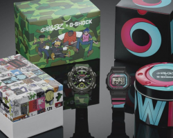 GORILLAZ LAUNCH LIMITED EDITION WATCHES IN COLLABORATION WITH G-SHOCK