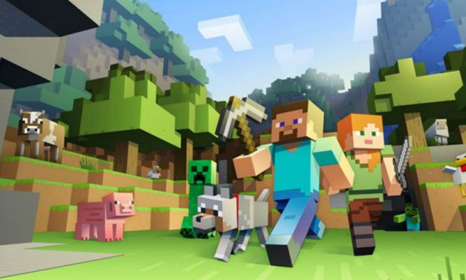 THERE'S A MUSIC FESTIVAL HAPPENING IN MINECRAFT THIS MONTH