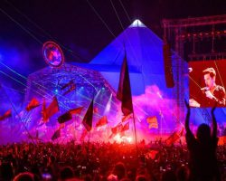 "GLASTONBURY'S MICHAEL EAVIS SAYS A 2021 FESTIVAL IS ""WISHFUL THINKING"""