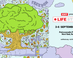 EXIT festival supports UN World Food Programme through Life Stream Project.