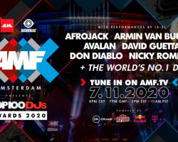 AMF presents Top 100 DJs Awards 2020: virtual event lineup revealed
