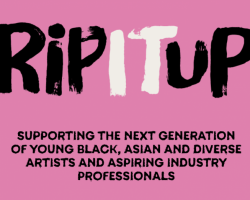 NEW MUSIC INDUSTRY BURSARY PROGRAMME, RIP IT UP, LAUNCHED FOR BLACK, ASIAN AND DIVERSE ARTISTS