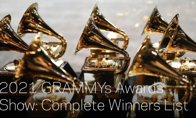 GRAMMYS 2021 WINNERS: HERE'S THE FULL LIST