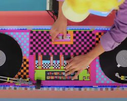 ARTIST DESIGNS WORKING DJ DECKS MADE ENTIRELY OUT OF LEGO