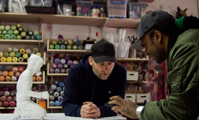 THE PRODIGY'S MAXIM UNVEILS NEW MUSIC AND ART PROJECT WITH LONDON ARTIST DAN PEARCE