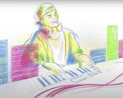 AVICII 'WAKE ME UP' ANIMATION SHARED BY GOOGLE TO CELEBRATE LATE DJ'S BIRTHDAY