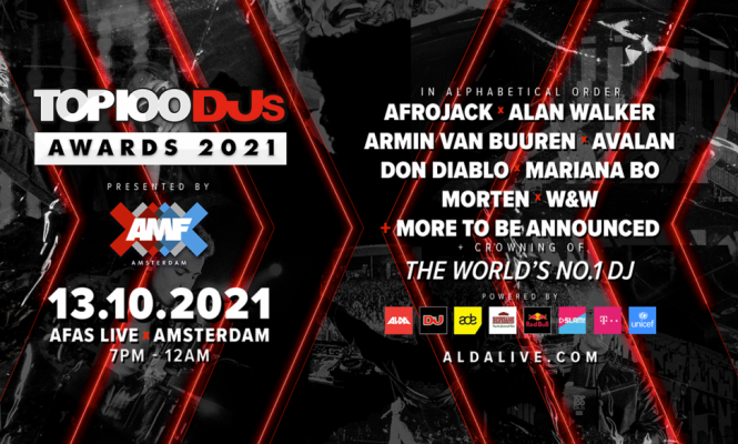 DJ Mag locks line-up for Top 100 DJs awards party in Amsterdam